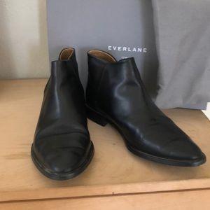 Everlane Black Modern Ankle Boot
